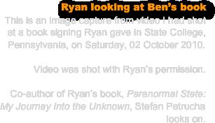 ryan paranormal state